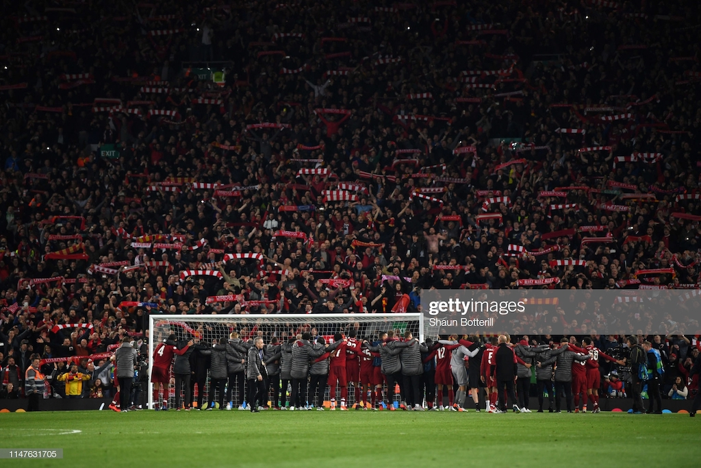 Liverpool announce Anfield expansion with the capacity to be taken over 60,000