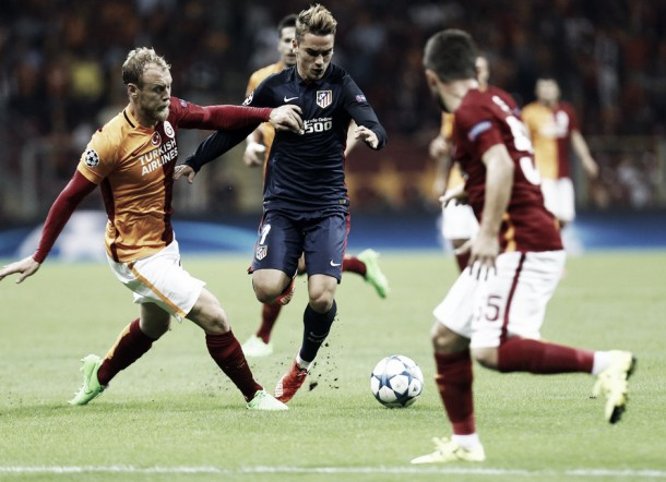 El Galatasaray nunca ha perdido en el Calderón