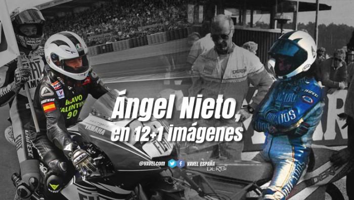 Ángel Nieto, el 12+1 imágenes