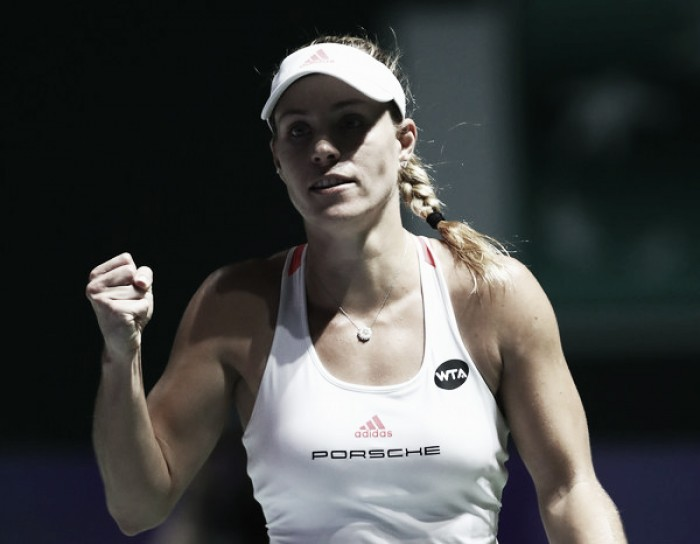 WTA Finals: Angelique Kerber dominates Agnieszka Radwanska, sets Sunday Showdown with Dominika Cibulkova for prestigious year-end title