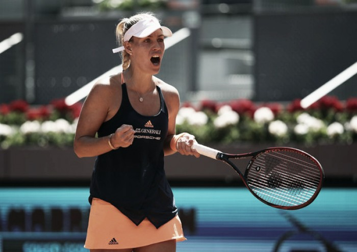 WTA Madrid: Angelique Kerber and Eugenie Bouchard leads the day of upsets