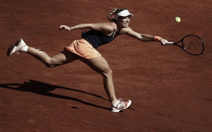 WTA Madrid: Angelique Kerber returns to number one spot with first round win