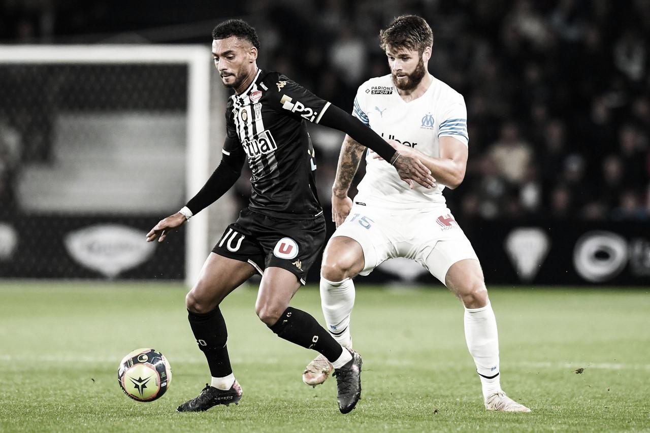 Angers empata com Olympique de Marseille e seguem nas primeiras posições da Ligue 1