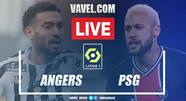 Gol e melhores momentos de Angers x Paris Saint-Germain (0-1)