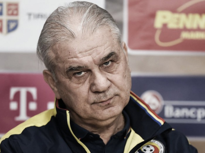 Anghel Iordanescu pleased with Romania performance