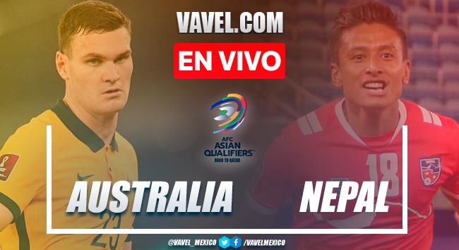 Resumen y goles: Australia 3-0 Nepal en Eliminatorias AFC para el Mundial Catar 2022