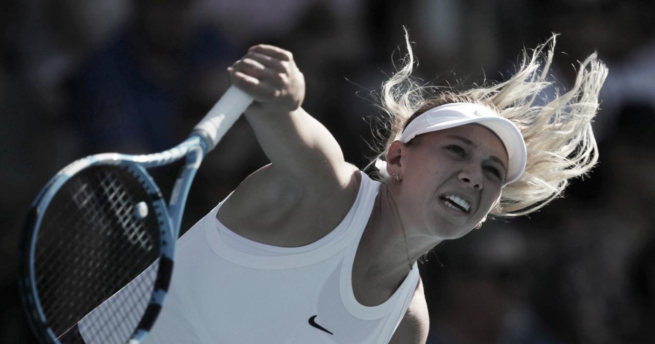 Anisimova vence Svitolina na segunda rodada em Doha