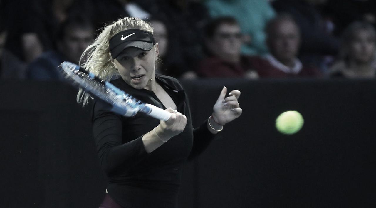 Anisimova vence batalha contra Bouchard e enfrenta Serena nas semis em Auckland