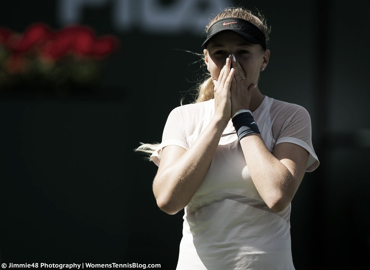 WTA Indian Wells: Amanda Anisimova stuns Petra Kvitova in straight sets