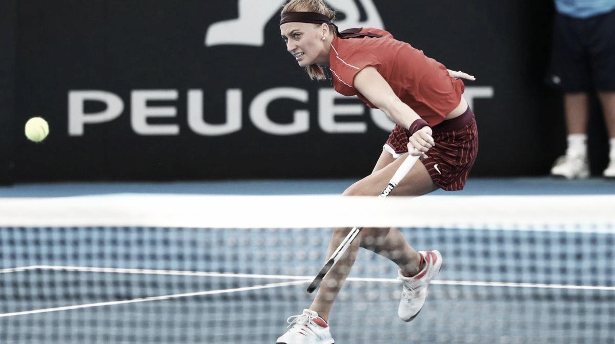 Kvitova põe fim a série de vitórias de Sabalenka para avançar em Sydney