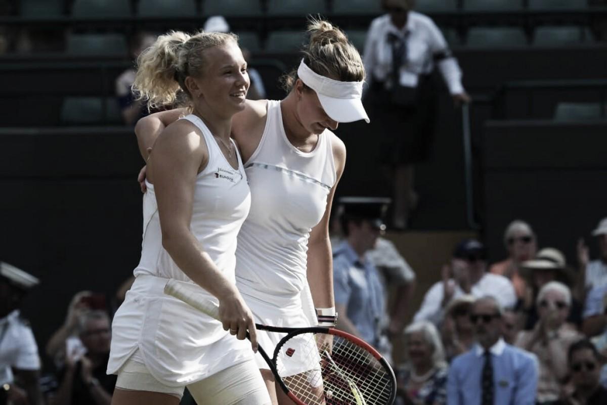 Siniakova/Krejcikova fazem ótima estreia no US Open ao baterem Krunic/Bondarenko