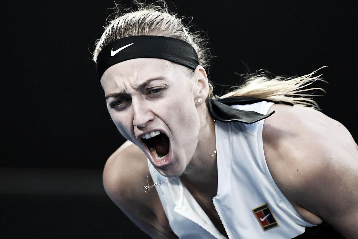 Enorme! Kvitova volta a triunfar em cima de Barty e avança às semis em Melbourne