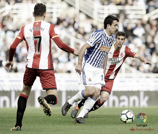 Previa Real Sociedad - Girona: en busca de la primera victoria en Anoeta