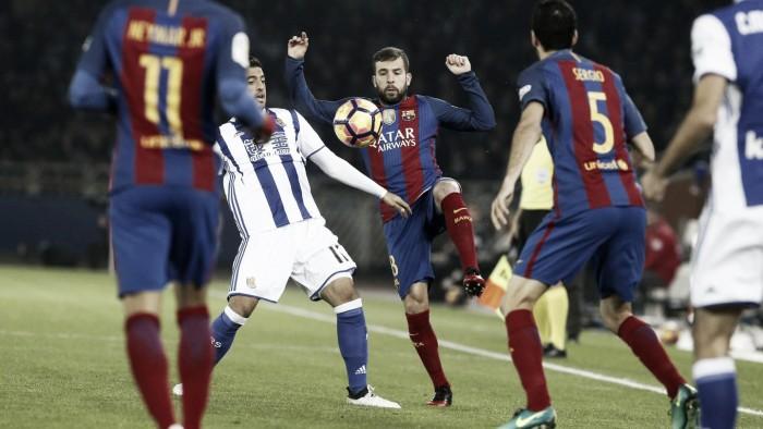 Real Sociedad - FC Barcelona: puntuaciones del Barcelona, jornada 13 de LaLiga