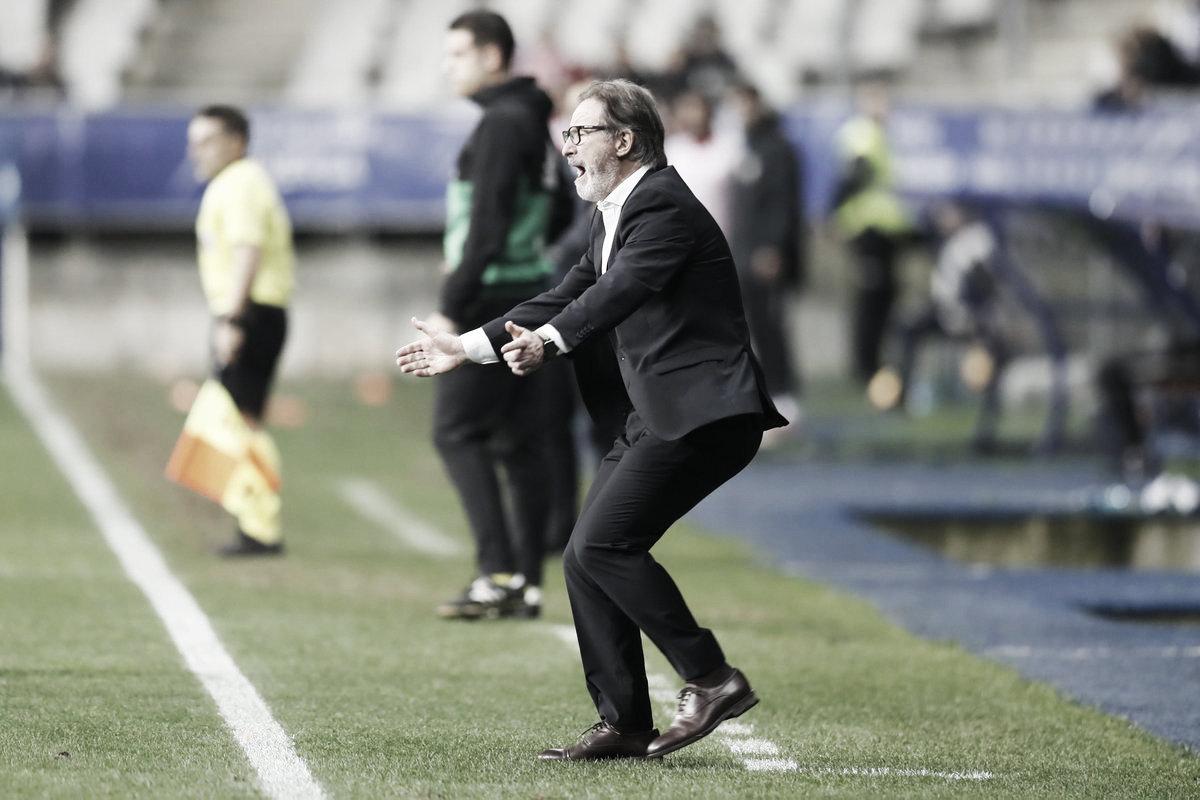 """Juan Antonio Anquela: """"Nos ha faltado controlar el partido. Toca levantarse, no queda otra"""""""