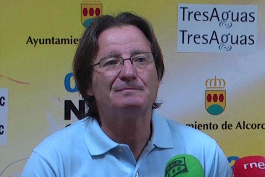 """Anquela: """"Nunca he dejado de ser feliz en el Alcorcón"""""""