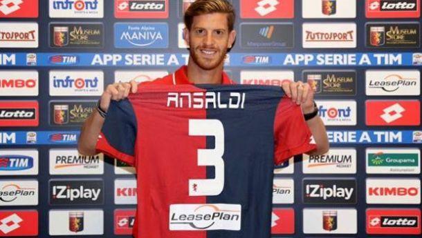 Genoa: presentato Ansaldi