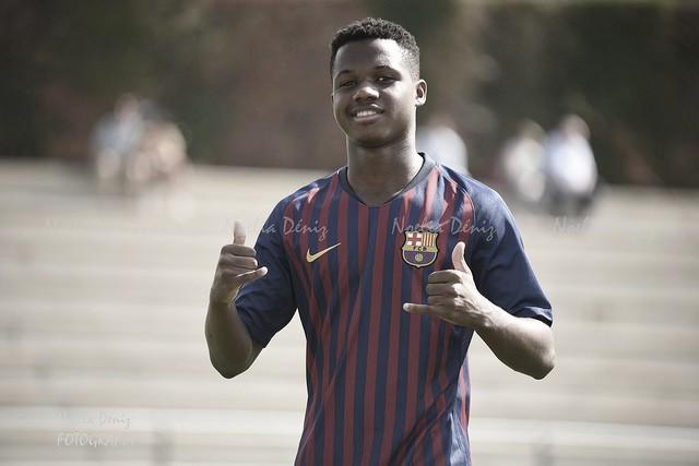 Ansu Fati, el maestro del gol