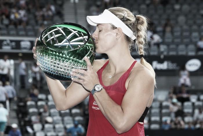 Kerber vuelve a triunfar en Sídney