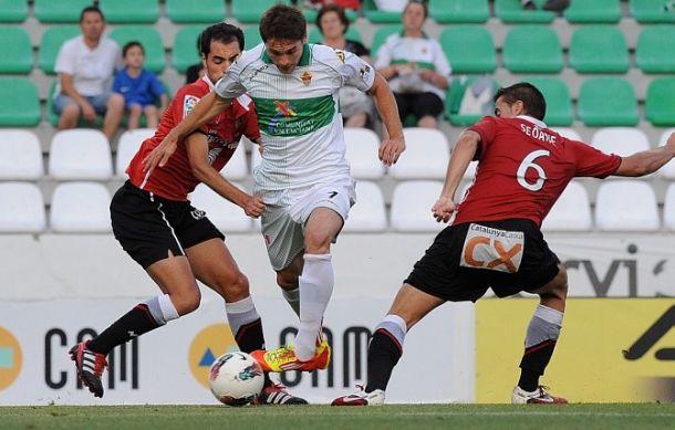 Elche CF - Nàstic de Tarragona: tres años y tres meses después