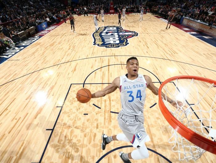 NBA All-Star Game - L'Ovest vince ancora (192-182), Davis MVP con record di punti