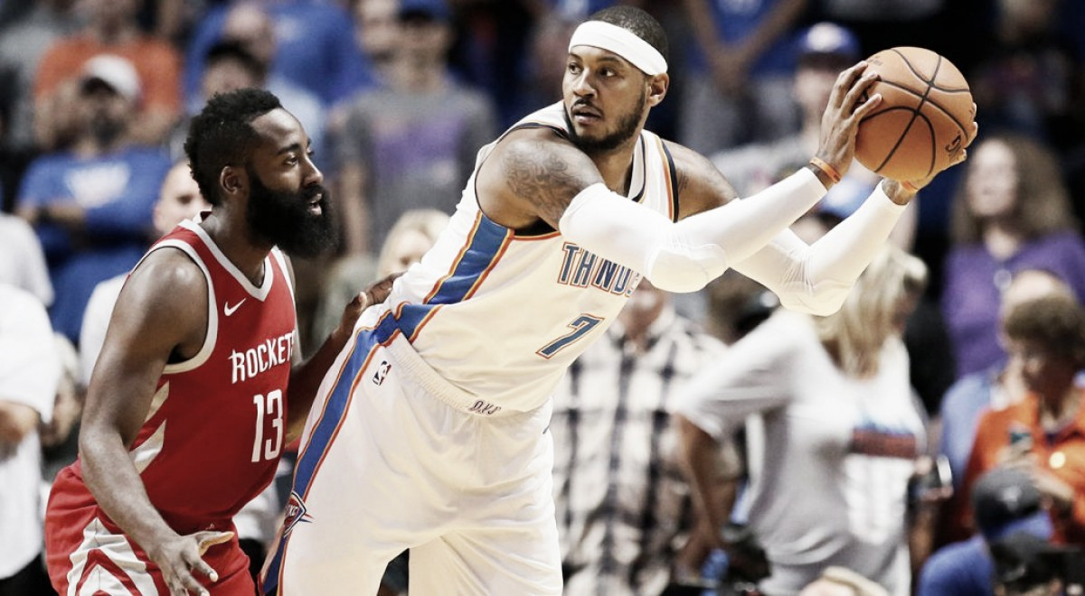 Houston Rockets no se preocupa por el impuesto de lujo e irá a por Carmelo Anthony