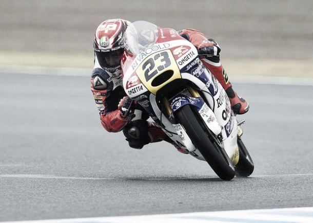 Moto3: Antonelli in pole a Sepang