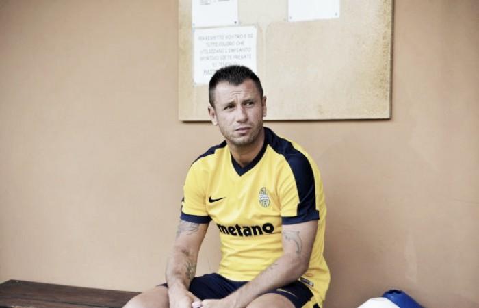 """Verona, arriva la decisione di Cassano """"Non giocherò più a calcio, priorità alla mia Famiglia"""""""
