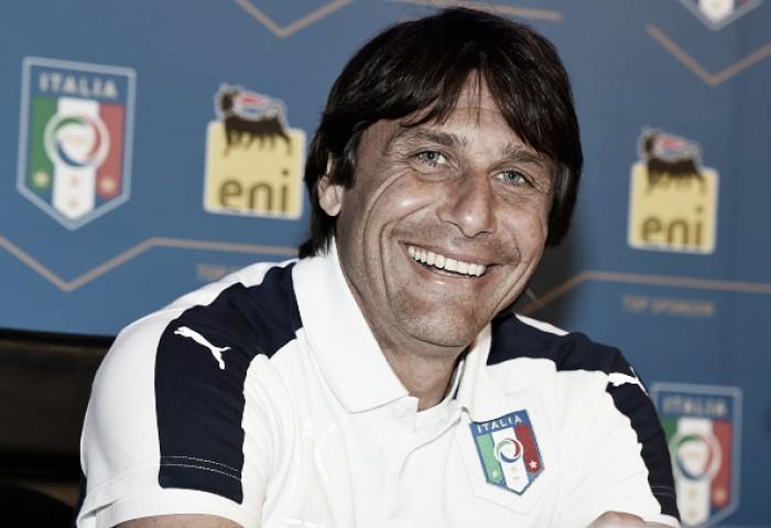Conte lamenta revés da Itália contra Irlanda e já projeta duelo com a Espanha