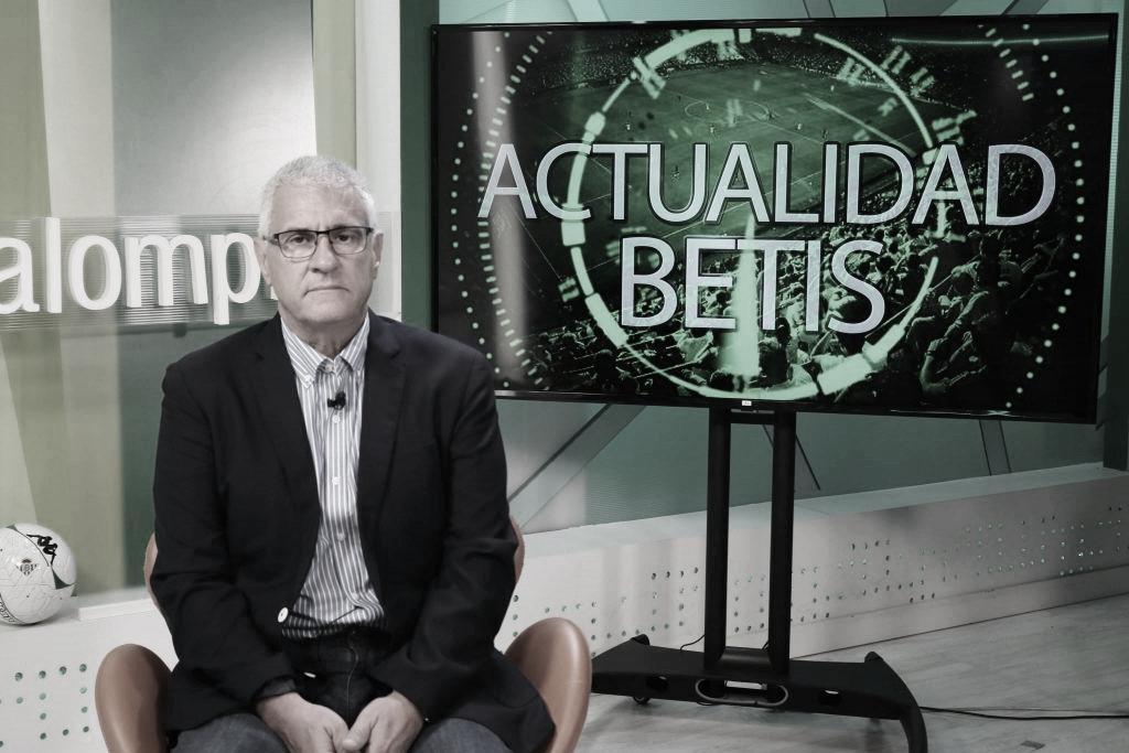 Antonio Cordón. Foto: RTV Betis