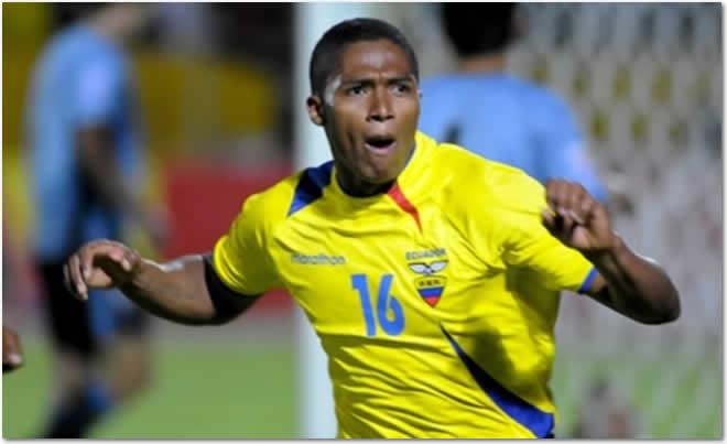 #AntonioValencia, un partido de suspensión por expulsión en el Mundial de Brasil