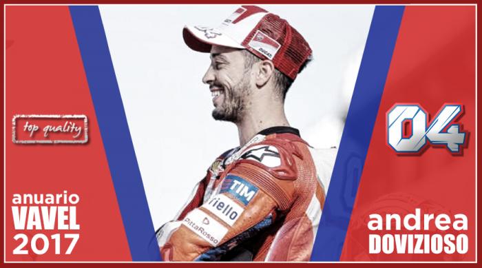 Anuario VAVEL MotoGP 2017: Andrea Dovizioso, nadar para morir en la orilla