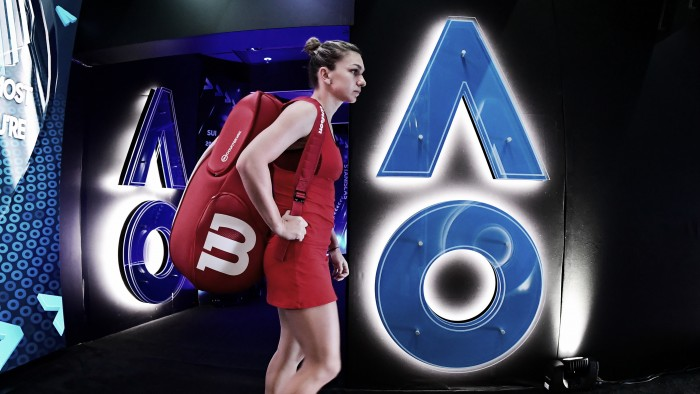 Australian Open: Simona Halep survives injury scare over Destanee Aiava