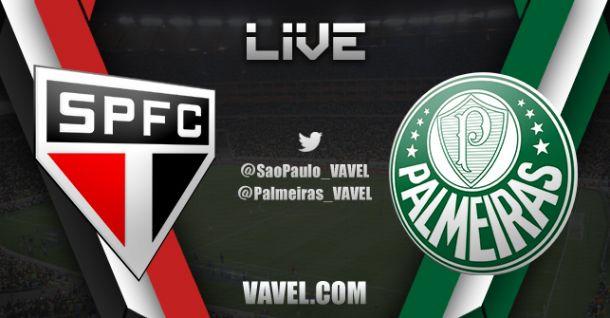 Resultado e gols de São Paulo x Palmeiras pelo Campeonato Brasileiro (0-2)