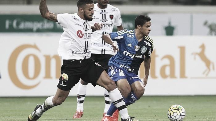 Palmeiras bate Botafogo-PB e abre vantagem na Copa do Brasil