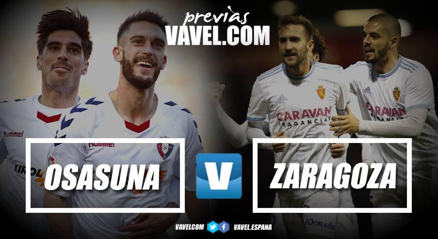 Previa CA Osasuna vs Real Zaragoza: enemigos íntimos