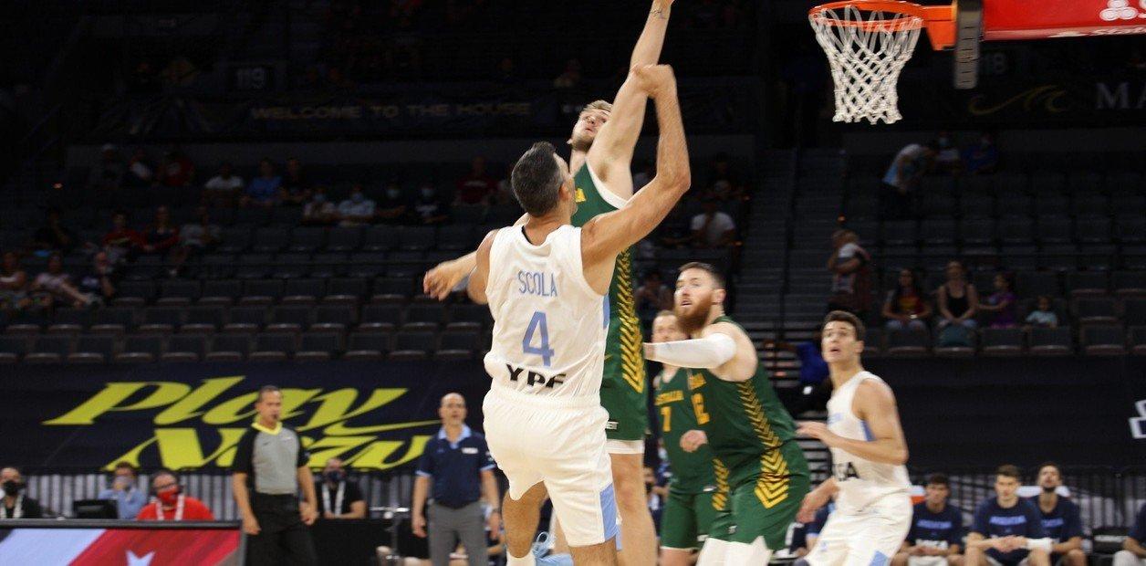 Resumen y mejores momentos del Australia 97-59 Argentina en Baloncesto Tokio 2020