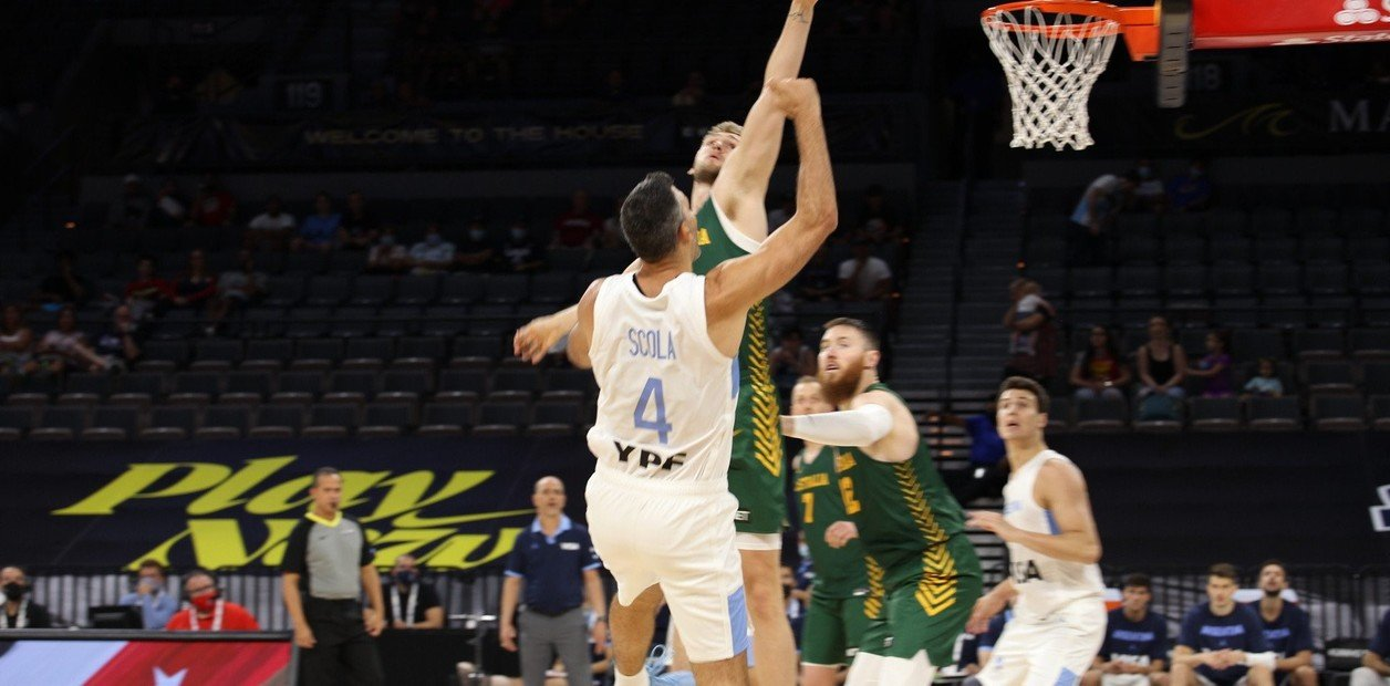 Summary and highlights of Australia 97-59 Argentina in Basketball Tokyo 2020
