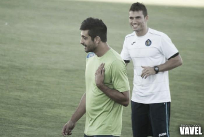 Alex Pérez y Alex López, los nuevos refuerzos del Sporting