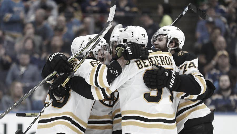 Los Bruins no tienen piedad de St.Louis y se ponen por delante en la final