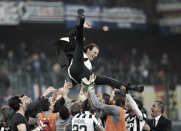 Após bater a Sampdória: Juventus campeã pela quarta vez consecutiva