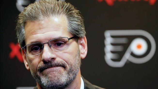 Struggling Philadelphia Flyers fire EVP and GM Ron Hextall