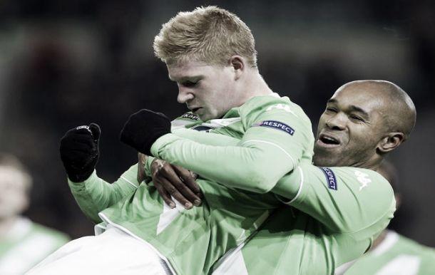Liga Europa: Wolfsburgo vira Inter ao contrário com bis De Bruyne