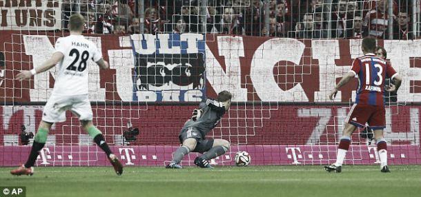 Bundesliga: Bayern perde em casa contra o Monchengladbach