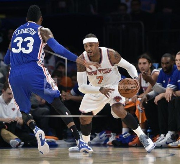 New York Knicks Look To End Four-Game Losing Streak With Win Over Philadelphia 76ers