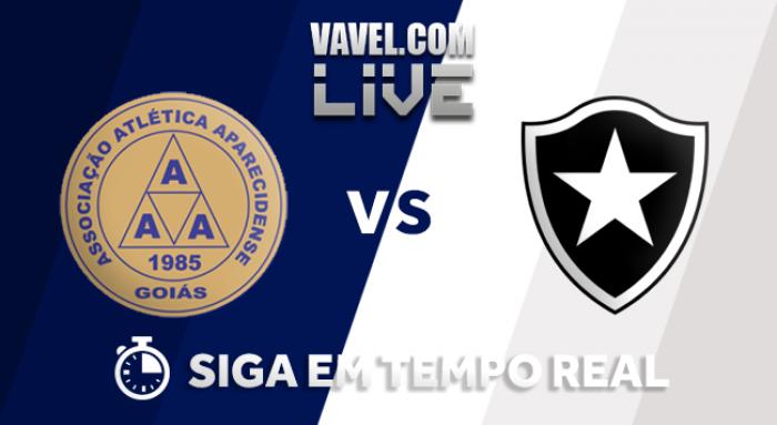 Resultado Aparecidense x Botafogo pela Copa do Brasil (2-1)