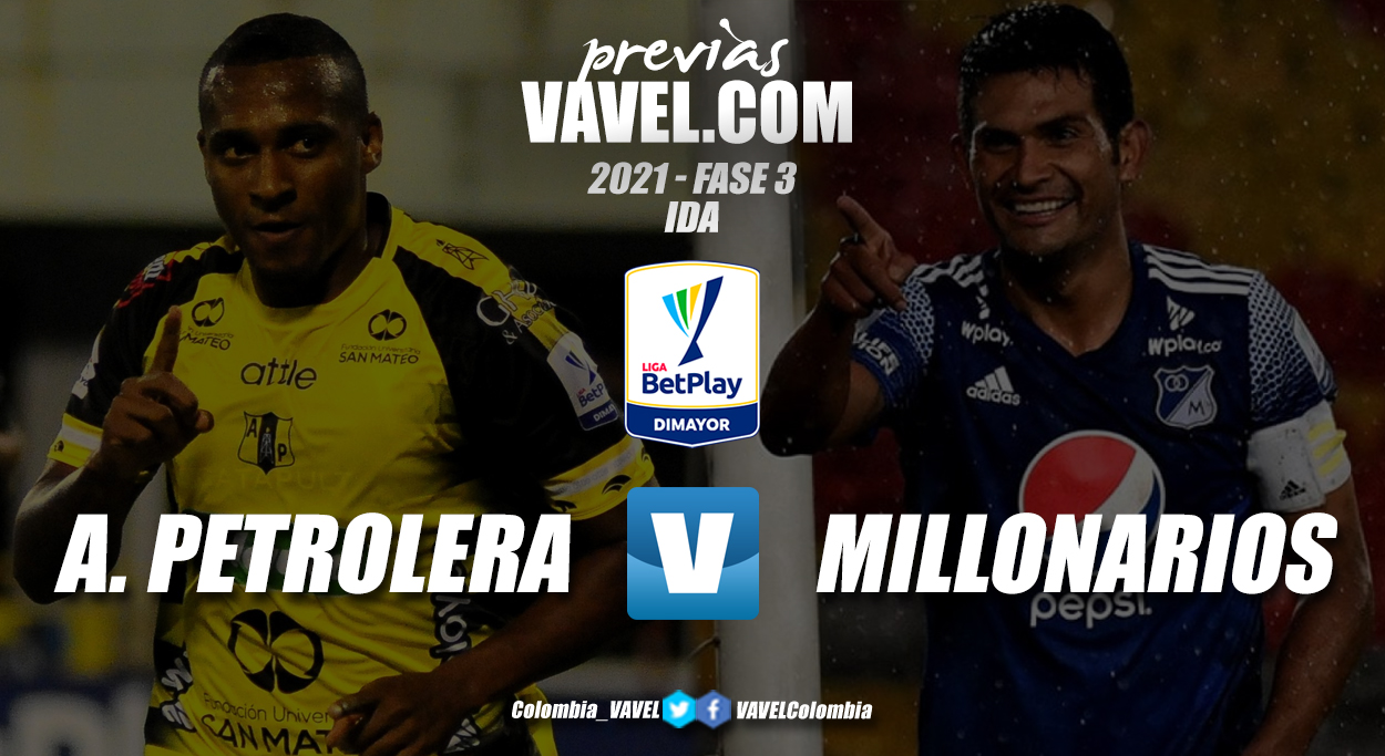 Previa Alianza Petrolera vs Millonarios: primer round buscando los octavos de copa