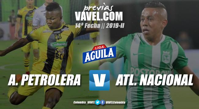 Previa Alianza Petrolera vs. Atlético Nacional: lucha directa por el liderato