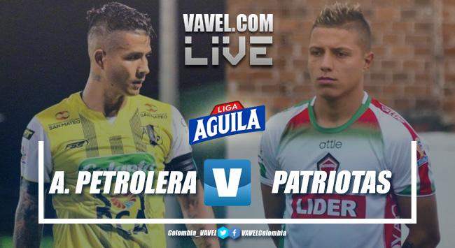 Resumen Alianza Petrolera vs Patriotas por la Liga Aguila (3-0)