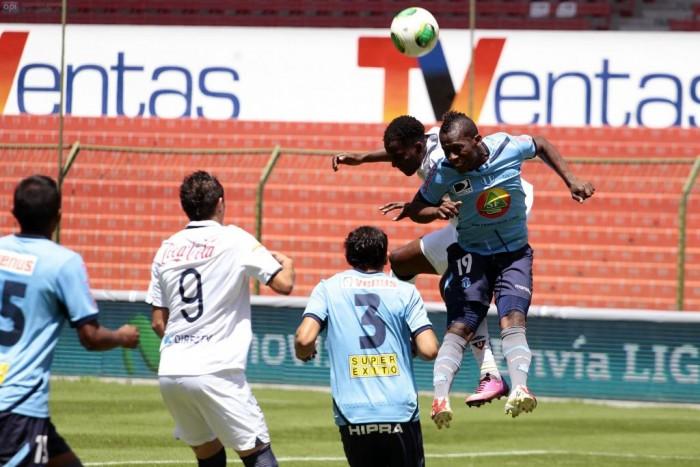Macará derrota a Liga Deportiva Universitaria en Ambato